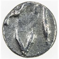 BENGAL PRESIDENCY: AR 1/32 rupee (0.35g) (Murshidabad), year 18. VF