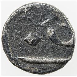 BENGAL PRESIDENCY: AR 1/32 rupee (0.34g) (Murshidabad), year 14. F