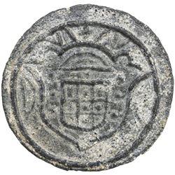 DIU: Pedro IV, 1826-1828, 20 bazarucos (15.83g), 1828. EF