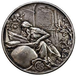 FRANCE: AR medal (153.71g), 1930. VF