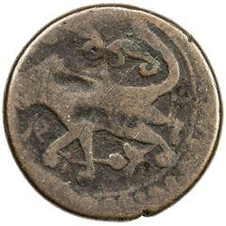 GEORGIA: temp. Giorgi XI, 1703-1709, AE 1/2 bisti (10.36g), Tiflis. F-VF