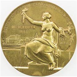 GERMAN STATES: Lothringen, AE medal (73.31g), 1908