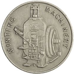 GREAT BRITAIN: nickel medal, ND. EF