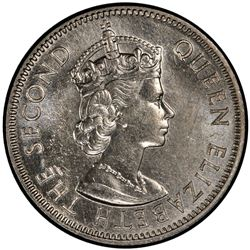 EAST AFRICA: Elizabeth II, 1952-, 50 cents, 1962-KN. PCGS SP