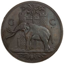 GOLD COAST: AE medal (49.22g), 1920-1921. EF