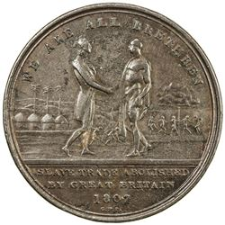 SIERRA LEONE: George III, 1760-1820, AE penny token (16.78g), 1807. VF