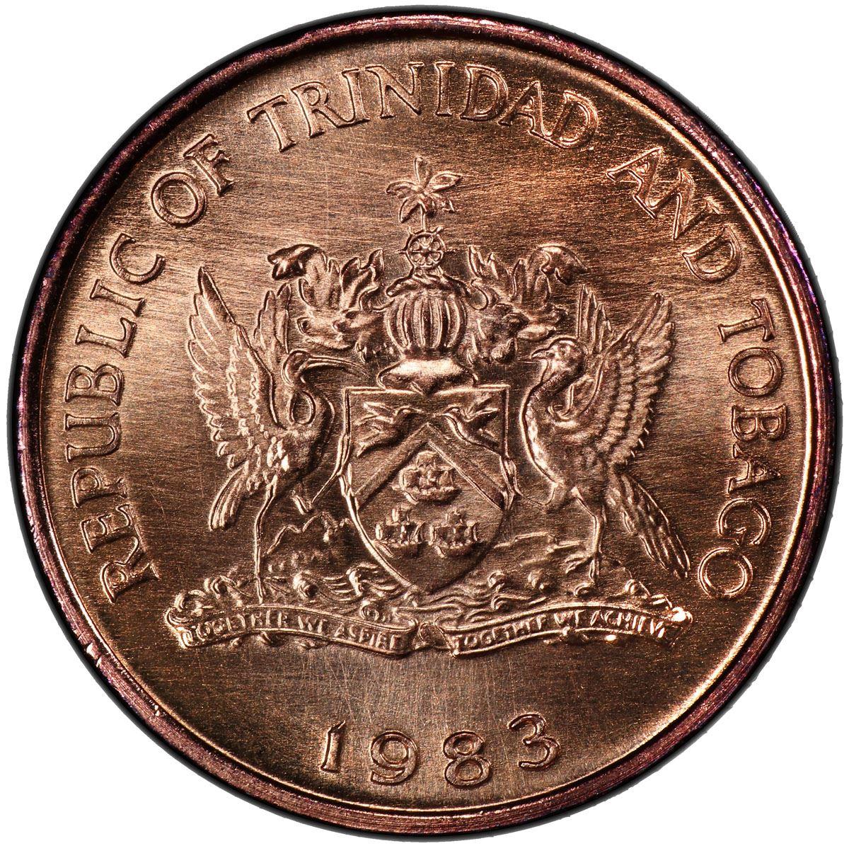 republic of trinidad and tobago coin