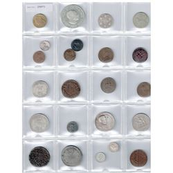 WORLDWIDE GROUP LOTS: AFRICA: LOT of 23 coins, retail value $475
