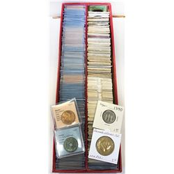WORLDWIDE GROUP LOTS: LOT of 312 diverse world coins from dealers' old stocks, retail value $4500