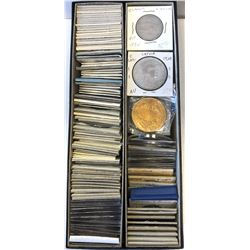 WORLDWIDE GROUP LOTS: LOT of 140 coins, retail value $1650