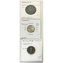 WORLDWIDE GROUP LOTS: LOT of 83 coins from a variety of locations, retail value $1400