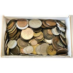 WORLDWIDE GROUP LOTS: LOT of 235 interesting types of machine struck base metal minor coins