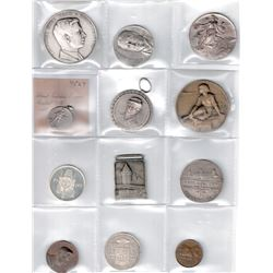WORLDWIDE GROUP LOTS: LOT of 21 diverse medals, retail value $450