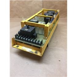 FANUC A06B-6058-H006 SERVO AMPLIFIER *MISSING TOP BOARD*