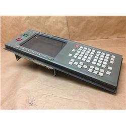 """FANUC A61L-0001-0095 9"""" LCD MONITOR W/  XA02B-0120-C052#18T MDI/CRT UNIT"""