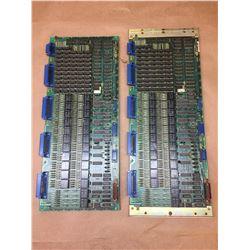 (2) FANUC A20B-0007-0040-04A RELAY CONTROL BOARD