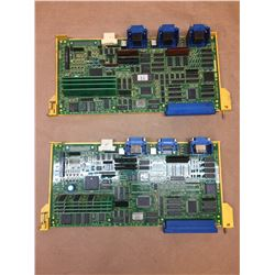 (2) FANUC DA16B-2200-012 AXIS CONTROL BOARDS