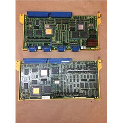 (2) FANUC AXIS CONTROL BOARDS A16B-2200-0741 & A16B-2200-008