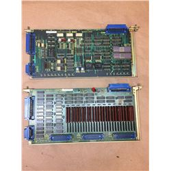 (2) FANUC A16B-1210-0322/03A & A20B-0007-0090/04B CNC BOARDS