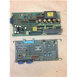 (2) FANUC A20B-0008-0240/0207D & A350-0009-T322/06 Boards