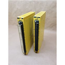 (2) FANUC A03B-0801-C449 OUTPUT MODULES