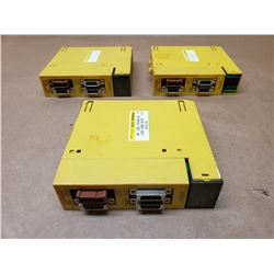 (3) FANUC A03B-0807-C011 OUTPUT MODULES