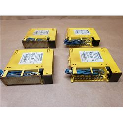 (4) FANUC A03B-0807-C104#D OUTPUT MODULES