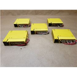 (5) FANUC A03B-0807-C158 I/O MODULES