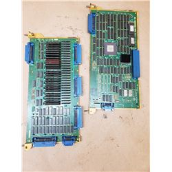 (2) FANUC A320-1211-T906/06 & A16B-1212-022 BOARDS