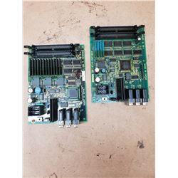 (2) FANUC A20B-2002-0470/01A & A20B-2002-0520/07A BOARDS