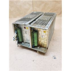 (2) idec PS3E-F24 POWER SUPPLY