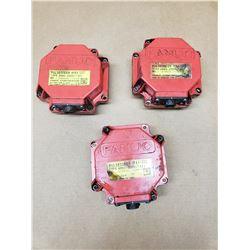 (3) FANUC A860-2000-T301 & A860-2000-T321 PULSECODER