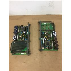(2) Fanuc A16B-2203-0370 Power Supply Board