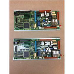(2) Fanuc Control Boards A20B-2100-077 & A20B-2100-0470