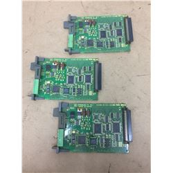 (3) Fanuc A20B-8100-0651/01A PC Devicenet Circuit Board PLC