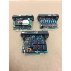 (3) Fanuc IC610MDL125B Input Module & IC610MDL180A Relay Output Module & IC610CPU104C Series One