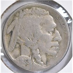 1923-S BUFFALO NICKEL VF