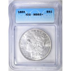 1880 MORGAN DOLLAR  ICG MS-65+