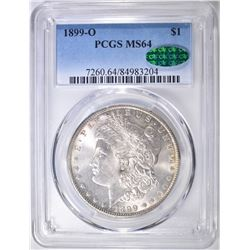 1899-O MORGAN DOLLAR  PCGS MS-64 CAC