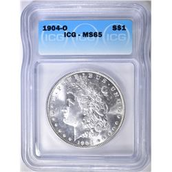 1904-O MORGAN DOLLAR  ICG MS-65