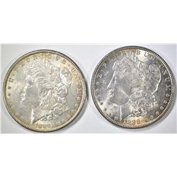 1888 & 1889 MORGAN DOLLARS   BU
