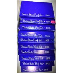 10-1969 U.S. PROOF SETS ORIG PACKAGING