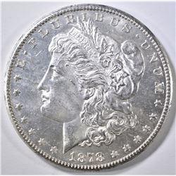 1878-S MORGAN DOLLAR  GEM BU PL