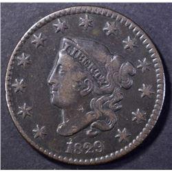 1829 MATRON HEAD LARGE CENT VF NICE