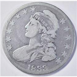 1833 BUST HALF DOLLAR  VG