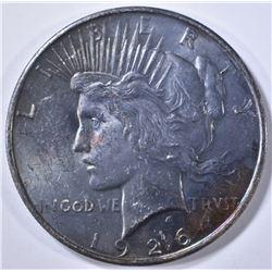 1926-D PEACE DOLLAR CH BU TONED