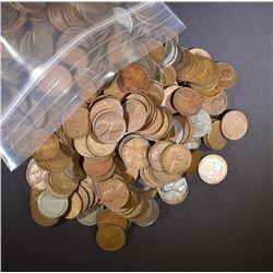 1166-MIXED DATE CIRC LINCOLN WHEAT CENTS