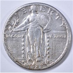 1923-S STANDING LIBERTY QUARTER PNA XF