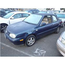2000 Volkswagen Cabriolet