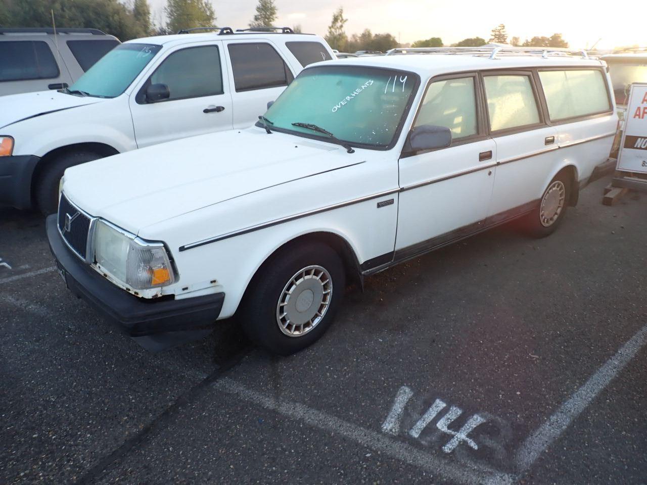 1990 Volvo 240dl Speeds Auto Auctions